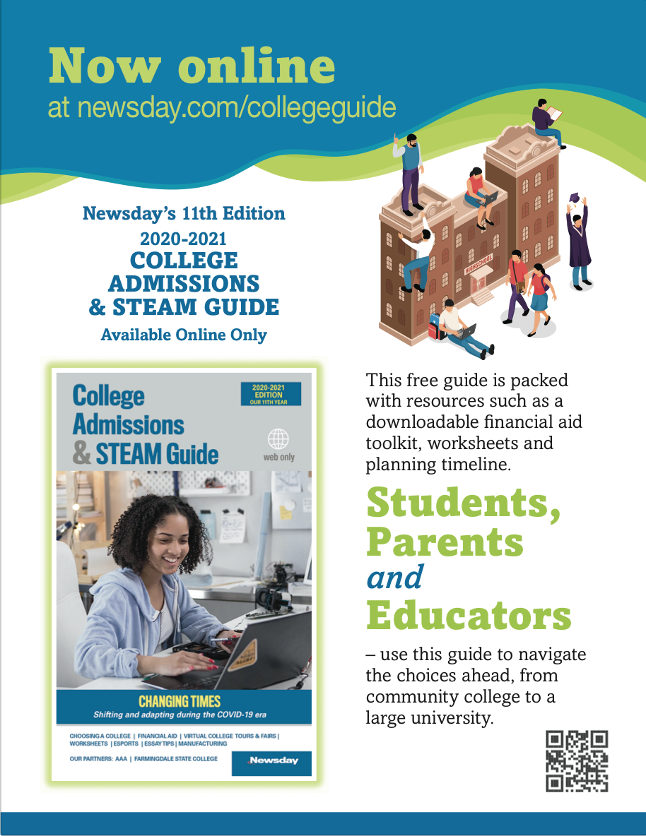 Newsday's college guide
